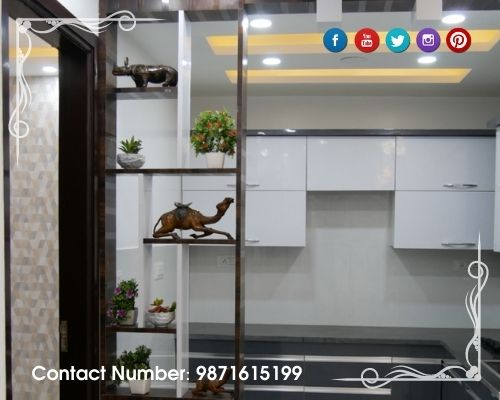 Flat Available In Mohan Garden With facility